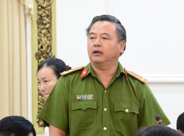 Thượng tá Nguyễn Quốc Hải – Phó Trưởng Công an quận 12 khẳng định đủ yếu tố khởi tố tội hành hạ người khác.