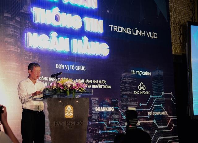 Ông Nguyễn Thành Hưng Thứ trưởng Bộ TT&TT phát biểu tại buổi hội thảo.