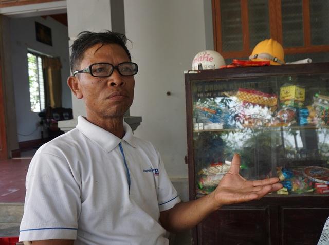 Ông Nguyễn Trung Vinh bỗng nhiên nhận được trát yêu cầu trả nợ dù bản thân không vay.
