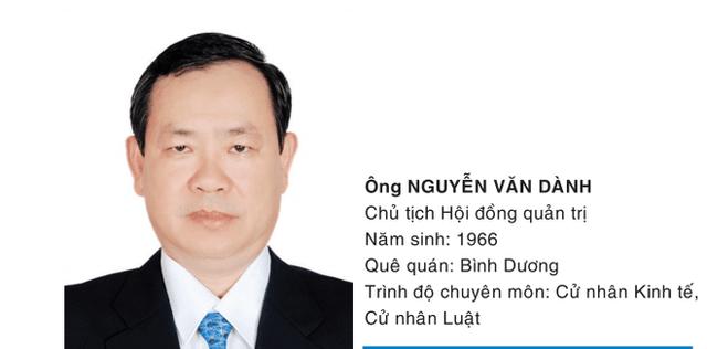 Thuộc biên chế của Sở công thương Bình Dương nên từ đầu tháng 3, ông Nguyễn Văn Dành rời ghế Chủ tịch Becamex TDC