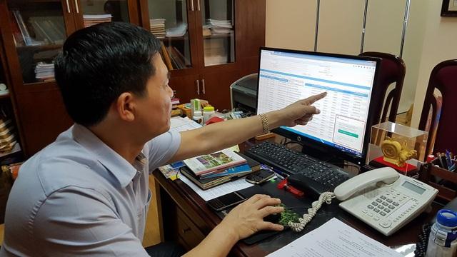 Ông Nguyễn Thanh Phong, Cục trưởng Cục An toàn thực phẩm cho biết, ngày giờ hồ sơ đến, trả kết quả... đều thể hiện rõ ràng trên hệ thống. Các hồ sơ đạt chất lượng đều được trả ngay, trước cả kỳ hạn phải trả. Ảnh: H.Hải