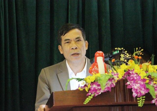 Ông Thái Quang Hải bày tỏ cảm ơn tới Tổ chức Shinnyo-en thông qua Quỹ Khuyến học Việt Nam và báo Dân trí đã tài trợ xây dựng công trình tại Trường Tiểu học Nga My I.