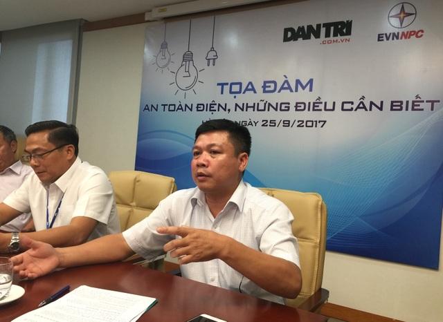 Ông Trần Hữu Thiêm - Phó Trưởng phòng An toàn điện - Cục Kỹ thuật an toàn & Môi trường công nghiệp