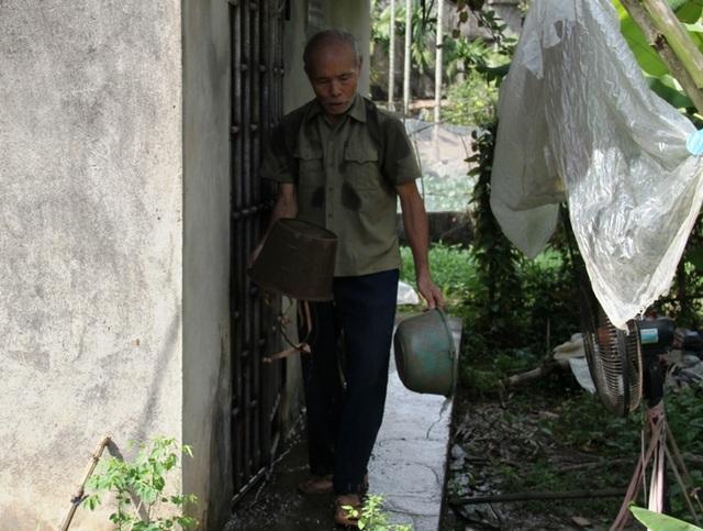 Bác Nguyễn Xuân Trường ông ngoại bé Trọng cũng mắc bệnh tâm thần