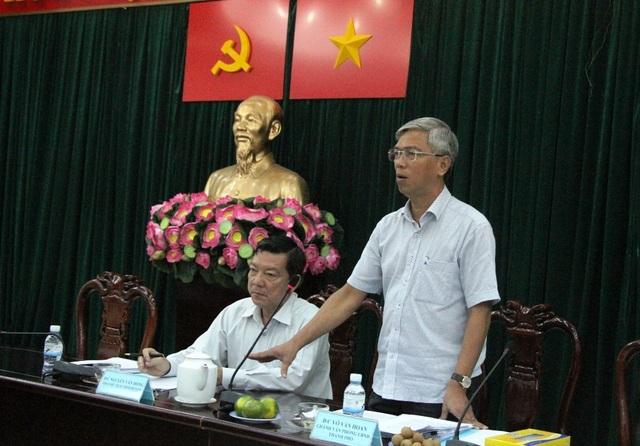 Chánh Văn phòng UBND TPHCM Võ Văn Hoan đề nghị huyện Bình Chánh có cơ chế phối hợp để quản lý trật tự xây dựng