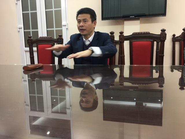 Phó Chủ tịch UBND tỉnh Vĩnh Phúc Vũ Chí Giang.