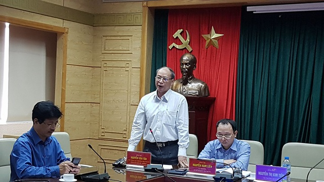 Ông Nguyễn Văn Tân, Phó Tổng Cục trưởng Tổng cục Dân số. Ảnh: H.Hải