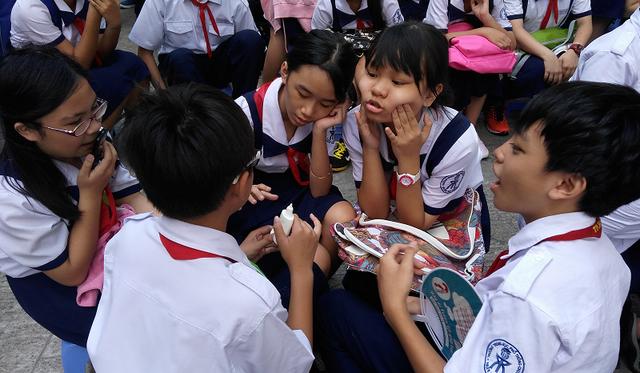 Con vào được Trường THPT chuyên Trần Đại Nghĩa là kỳ vọng của rất nhiều phụ huynh ở TPHCM