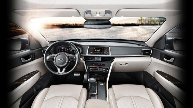 12 tính năng nổi bật giúp Kia Optima nằm trong Top xe tốt nhất năm 2017 - 4