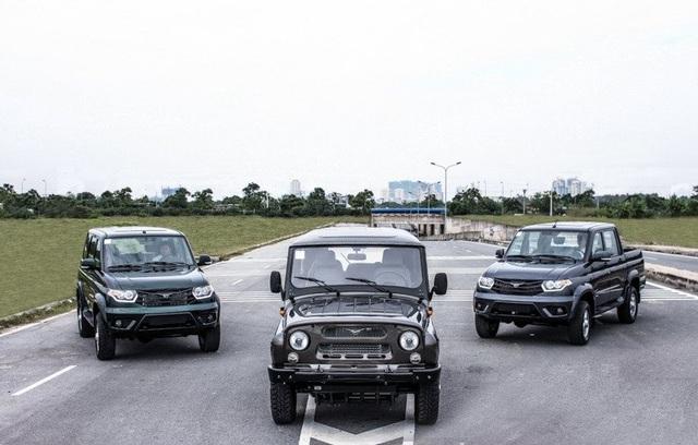 Các mẫu xe Nga được giới thiệu tại Việt Nam