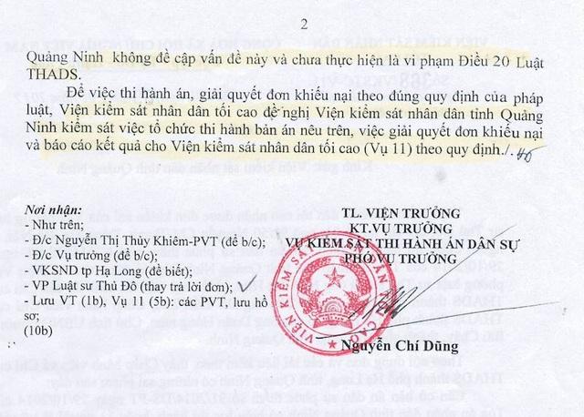 """VKSND Tối cao xác định sai phạm trong vụ thi hành án kiểu """"sống chết mặc bay""""."""