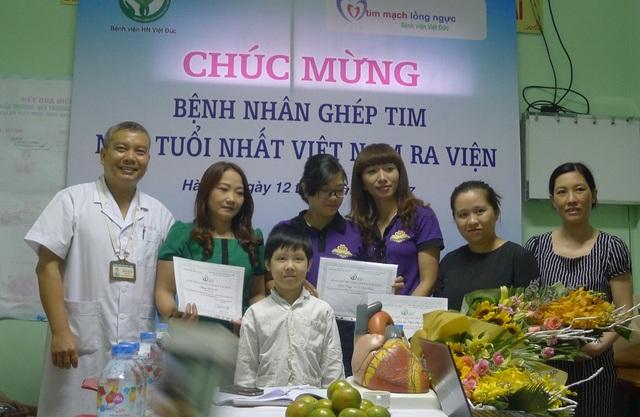 Bệnh nhân ghép tim nhỏ tuổi nhất Việt Nam được ra viện - 5
