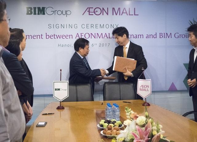 BIM Group đối tác vàng của Aeon Mall Vietnam - 1