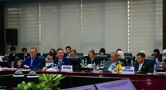 Bộ trưởng và quan chức các nước tham gia hội nghị (Ảnh: Xuân Ngọc)