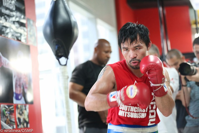 Manny Pacquiao tin Mayweather sẽ chiến thắng McGregor