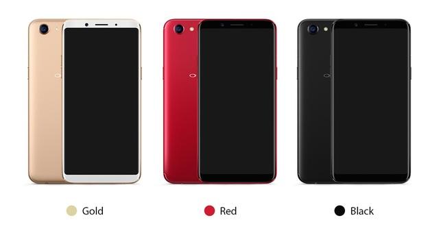 Oppo F5 sản phẩm được trao giải cho cuộc bình chọn năm nay