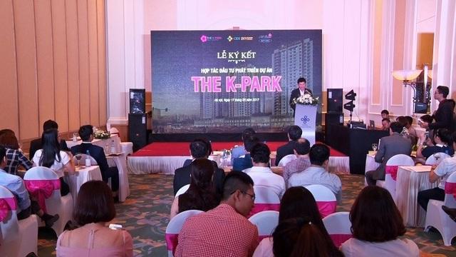 CenInvest và Hi Brand Việt Nam ký kết hợp tác đầu tư phát triển dự án The K - Park - 1