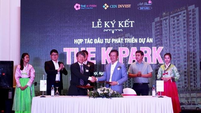 Sau lễ ký kết, Hi Brand Việt Nam và CenInvest chính thức trở thành đối tác chiến lược, The K - Park là dự án đầu tiên hai đơn vị hợp tác đầu tư phát triển.