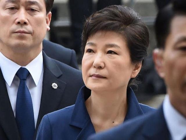Bà Park là tổng thống dân cử đầu tiên bị phế truất trong lịch sử Hàn Quốc (Ảnh: Reuters)