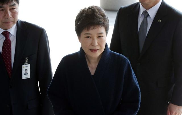 Cựu Tổng thống Hàn Quốc Park Geun-hye. (Ảnh: Korea Times)