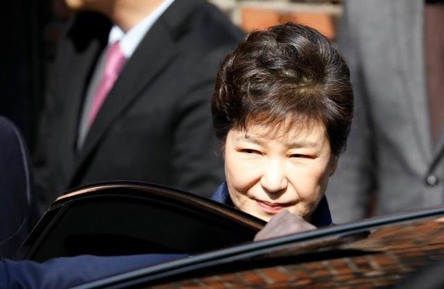 Cựu Tổng thống Park Geun-hye. (Ảnh: Reuters)