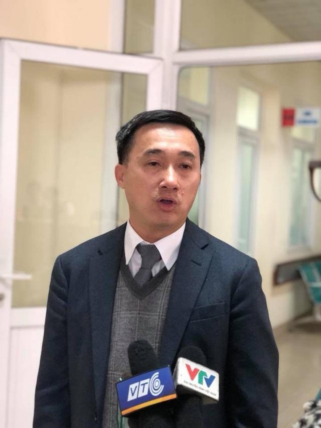 PGS.TS Trần Văn Thuấn, Giám đốc BV K hi vọng Trung tâm xạ trị Proton sẽ sớm được thành lập, đi vào hoạt động để mang lại thêm một phương pháp điều trị mới hiệu quả cho bệnh nhân ung thư. Ảnh: H.Hải