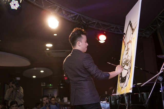 """Phạm Hồng Minh đã được khán giả ưu ái gọi là """"Phù thủy vẽ tranh""""."""