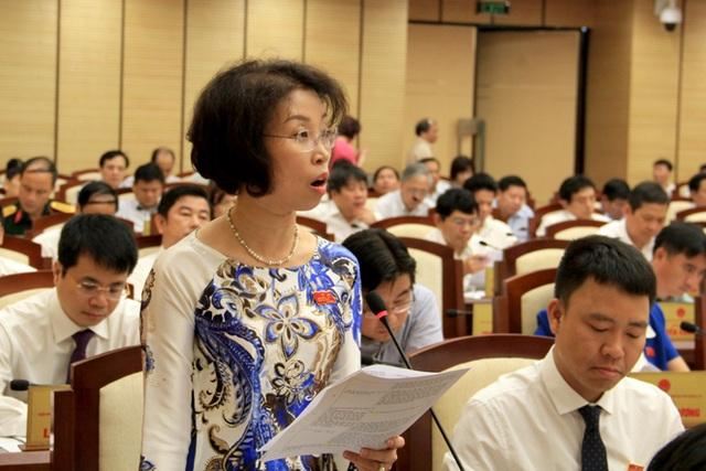 Đại biểu Phạm Thị Thanh Mai đề nghị Giám đốc Công an TP Hà Nội làm rõ quá trình điều tra các công trình vi phạm trật tự xây dựng