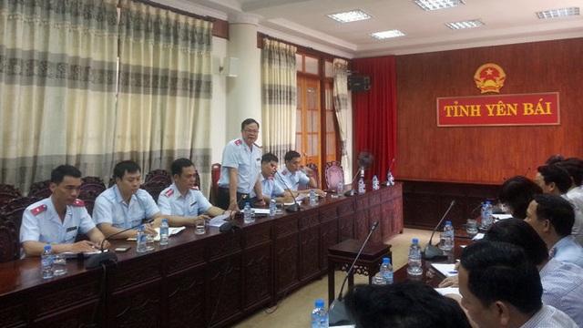 Ông Phạm Trọng Đạt phát biểu tại buổi công bố quyết định thanh tra (Ảnh: TTCP).