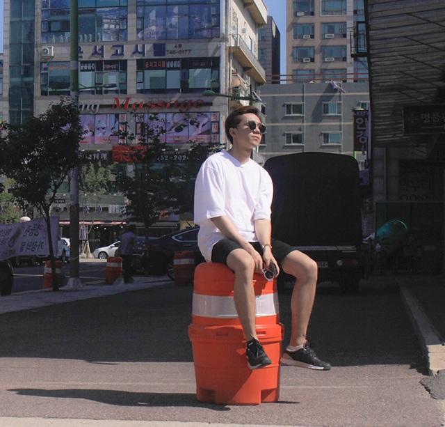 Vũ Kiên du lịch Hàn Quốc