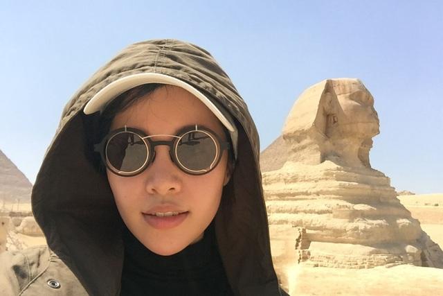 Michelle Phan trong chuyến du lịch tới Ai Cập để tìm lại chính mình.