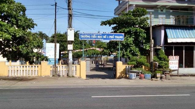 Trường Tiểu học Phổ Thạnh I (huyện Đức Phổ, Quảng Ngãi).