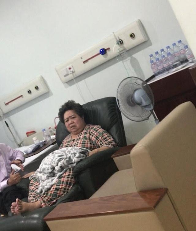 Bà Phấn đang nằm viện trong lúc bị khởi tố bị can, khám xét nhà riêng
