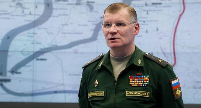 Phát ngôn viên Bộ Quốc phòng Nga Igor Konashenkov (Ảnh: Sputnik)