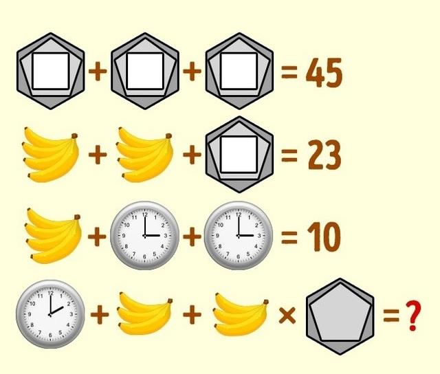 Mời bạn giải 5 câu đố không thể giải cực nhanh - 5