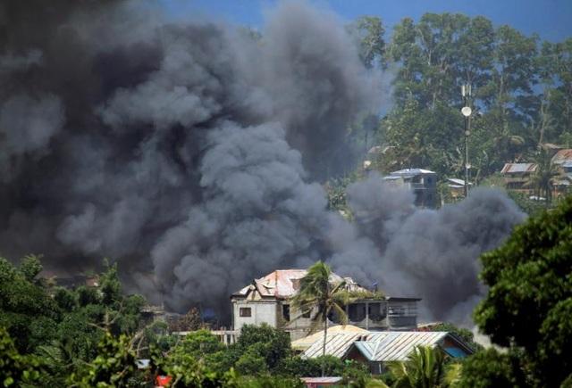 Các cuộc giao tranh ở Marawi khiến hơn 200 người thiệt mạng. (Ảnh: Reuters)