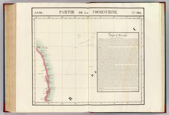 Tấm Partie de la Cochichine khẳng định chủ quyền của Việt Nam đối với quần đảo Hoàng Sa