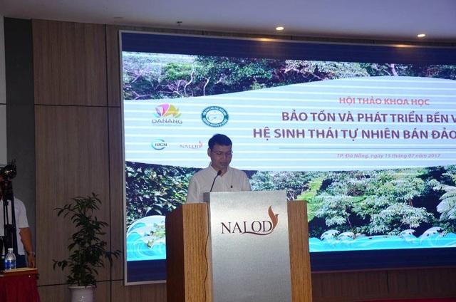 Phó Chủ tịch UBND TP Đà Nẵng Hồ Kỳ Minh phát biểu tại hội thảo