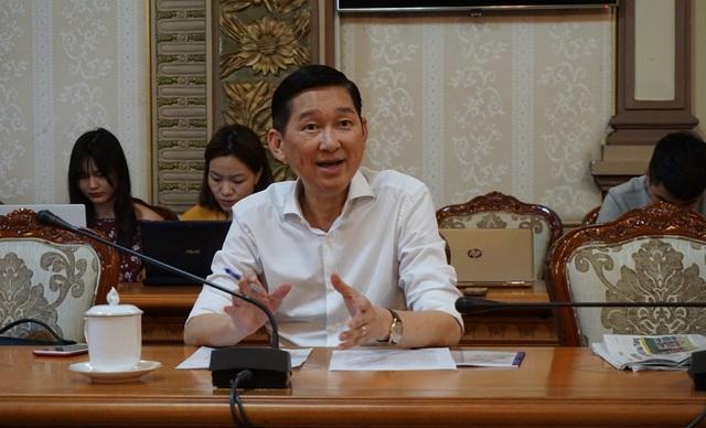 Phó Chủ tịch UBND TPHCM Trần Vĩnh Tuyến