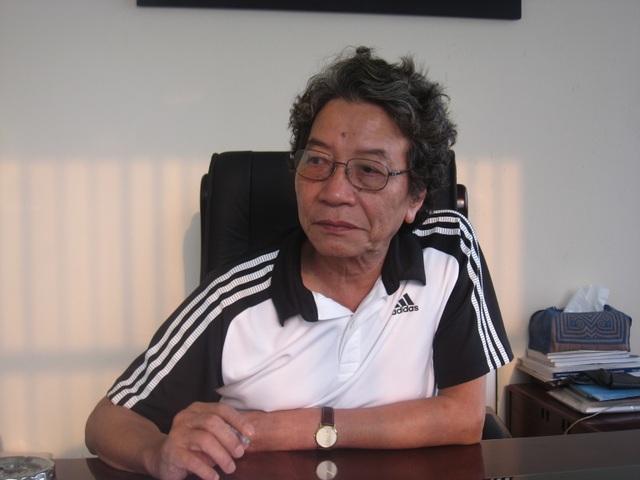 Nhạc sỹ Phó Đức Phương - Giám đốc Trung tâm Bảo vệ quyền tác giả âm nhạc Việt Nam. Ảnh: TL.