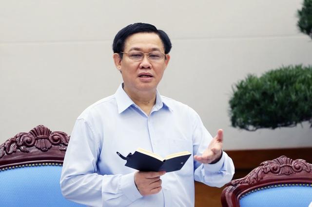 Phó Thủ tướng Vương Đình Huệ (ảnh: VGP).