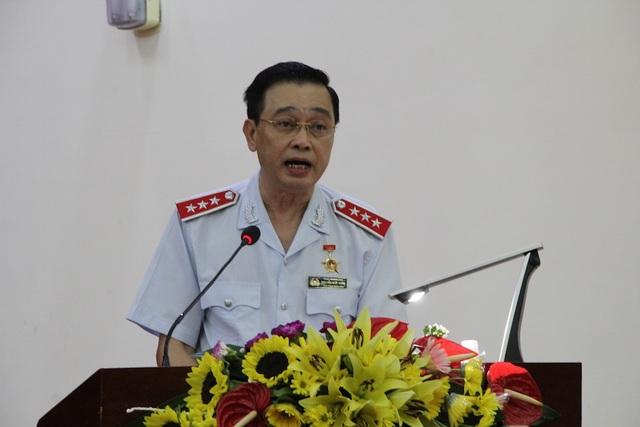 Phó Tổng Thanh tra Chính phủ Nguyễn Đức Hạnh phát biểu tại hội nghị.