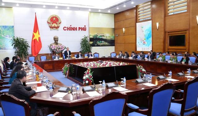 Phó Thủ tướng Trương Hoà Bình chủ trì phiên họp của Ban Chỉ đạo 896