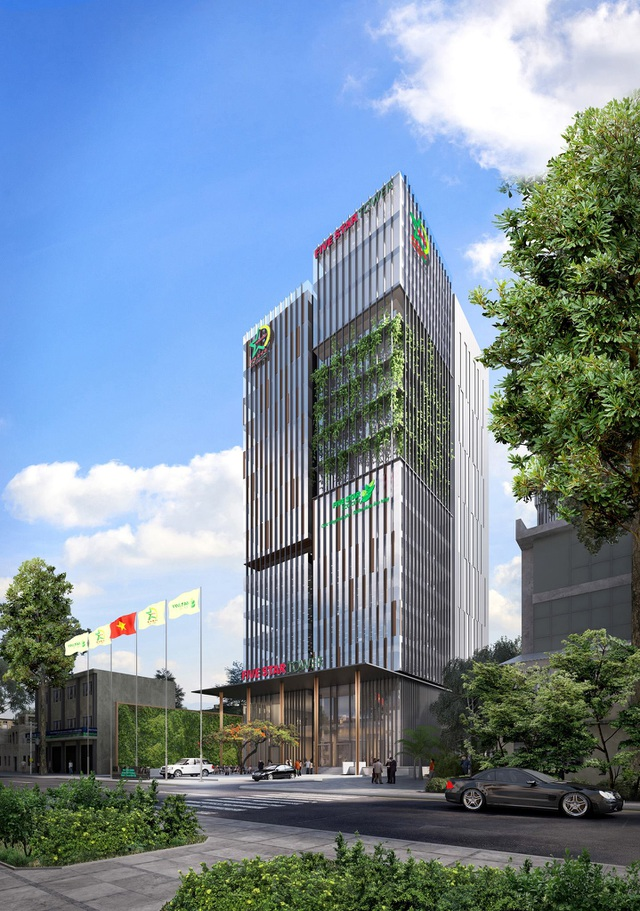 Phối cảnh công trình Dự án cao ốc văn phòng Five Star Tower