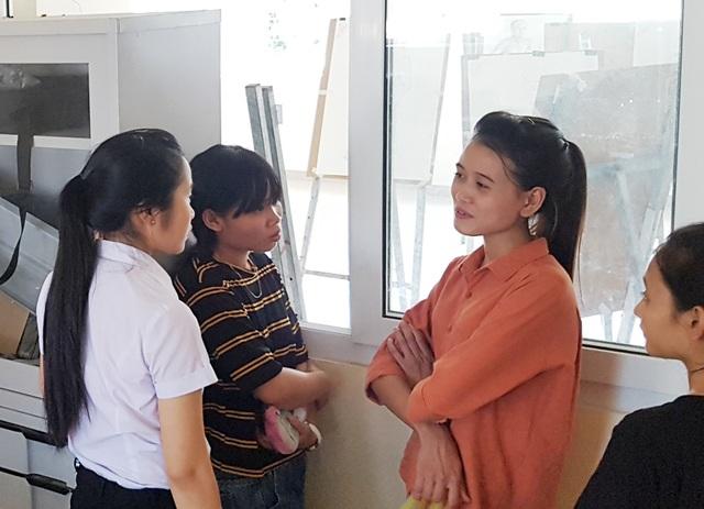 Trò chuyện trước giờ vào thi buổi cuối