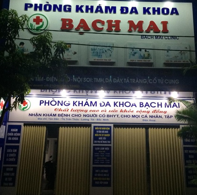Phòng khám đa khoa Bạch Mai bị phạt hành chính 89 triệu đồng và đình chỉ hoạt động 3 tháng do sai phạm hàng loạt