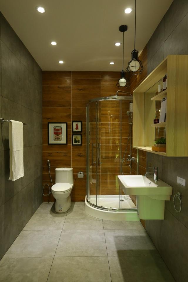 Không cần diện tích quá rộng rãi, bạn vẫn có được không gian nhà tắm hoàn hảo.