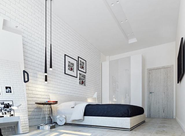 Gợi ý thiết kế phòng ngủ thanh lịch và đẳng cấp với gam màu trắng - 9