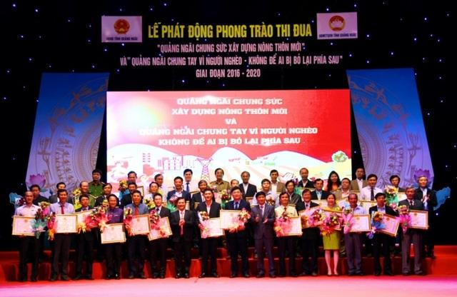 Các tổ chức, đoàn thể và doanh nghiệp trên địa bàn tỉnh Quảng Ngãi đã ủng hộ hơn 22 tỷ đồng đến đồng bào nghèo