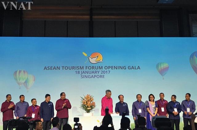 Lễ khai mạc Diễn đàn Du lịch ASEAN (Ảnh: TCDL)